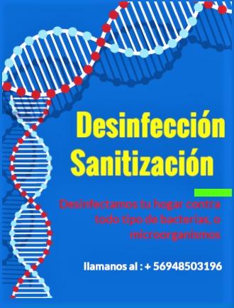 desinfección y fumigación  en santiago