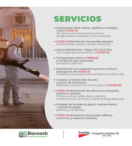 desinfección y limpieza de ac y ductos de ventilación