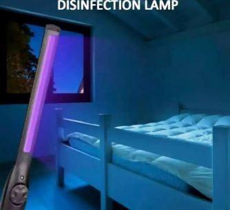 desinfección  y limpieza total con lámparas uv-c