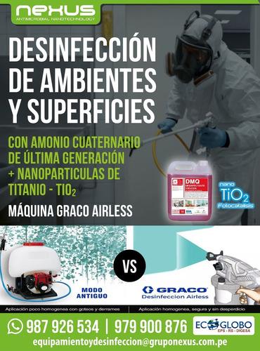 desinfeccion y nanotecnologia