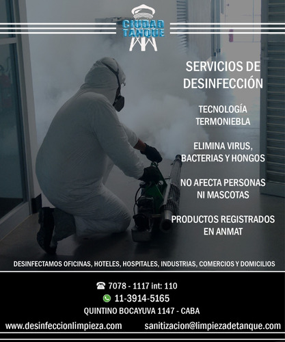 desinfeccion y sanitizacion de virus y bacterias - of y dom