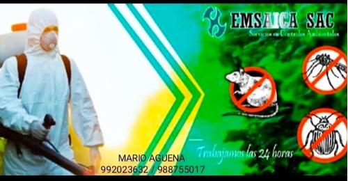 desinfecciones y fumigaciones
