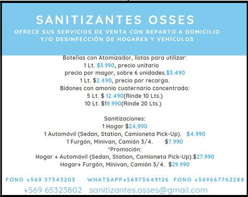 desinfecciones y venta de amonio cuaternario