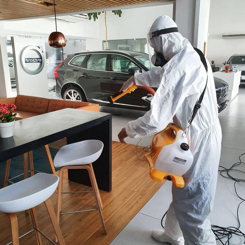 desinfecção e sanitização ambientes