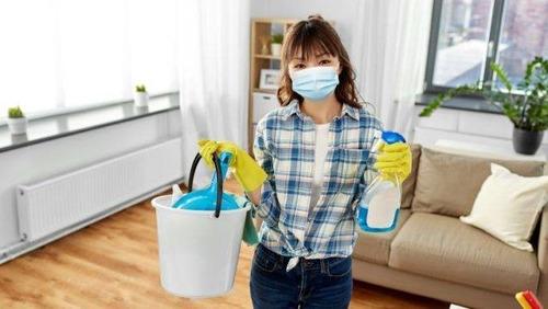desinfecção residencial