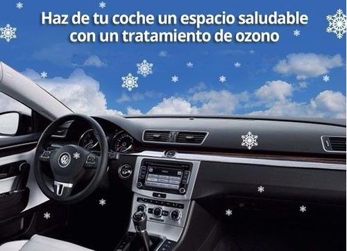 desinfecta y elimina olores de tu vehículo