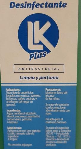 desinfectante antibacterial amonio cuaternario p/ obras 10lt