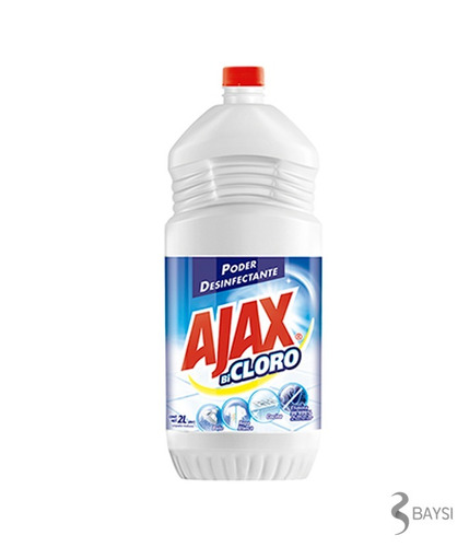 desinfectante bicloro - ajax