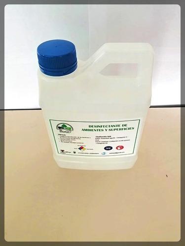 desinfectante de ambientes y superficies