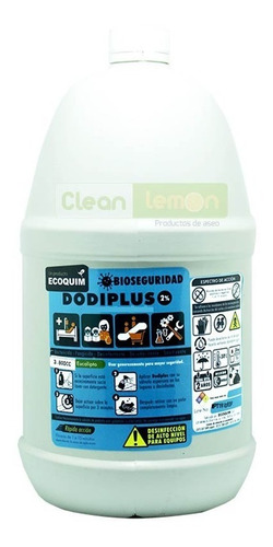 desinfectante de amonio cuaternario al 2% - kg a $6