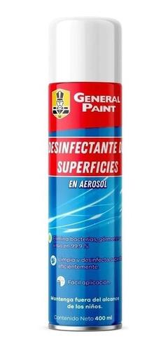 desinfectante de superficies general paint en aerosol 400ml