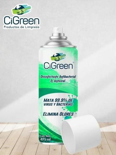 desinfectante en aerosol
