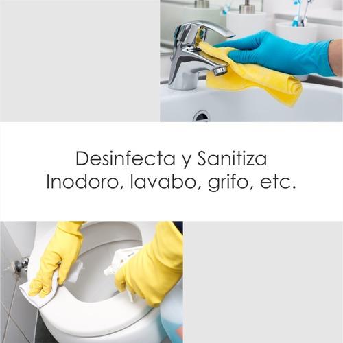 desinfectante multiusos a base de cuaternario de amonio 20 l