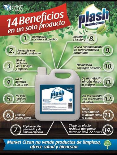 desinfectante plash