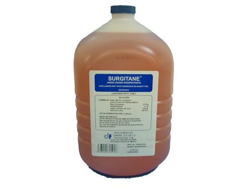 desinfectante quirúrgico de manos y piel triclosan. 4 litros