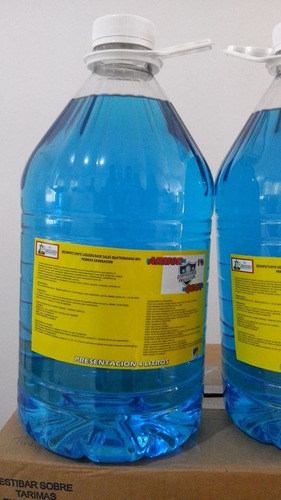 desinfectante sales cuaternarias 80% 4 lts biodegradable
