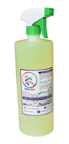 desinfectante sanydar listo para usar. bases cuaternarias.