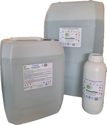desinfectante superficies manos ácido peracético lpu 25lts