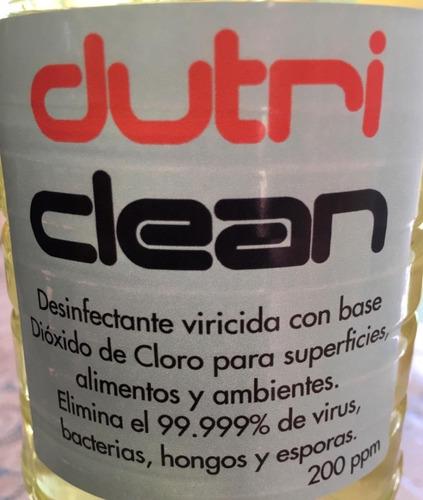 desinfectante y sanitizante