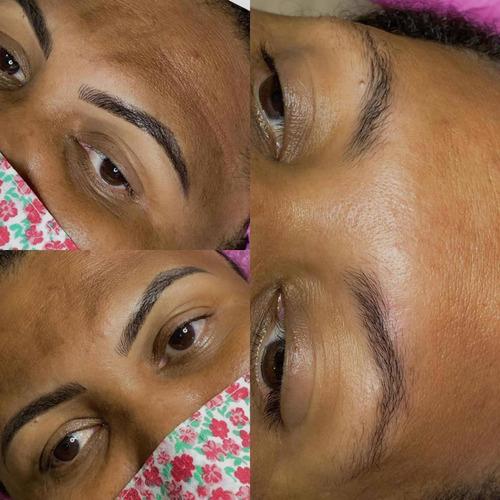 desing de sobrancelha e micropigmentação