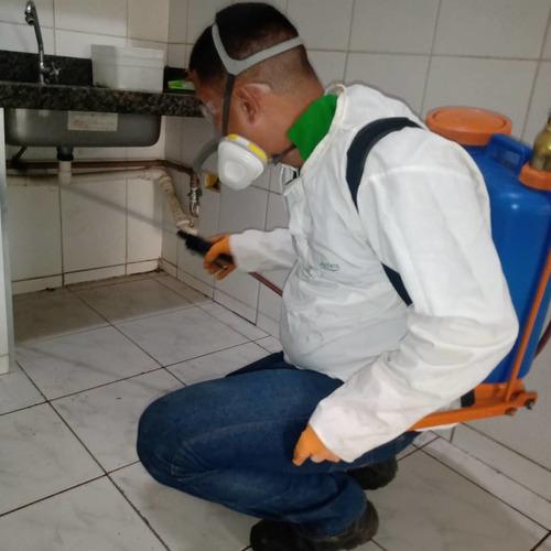 desinsetização, desratização, higienização de caixa de água