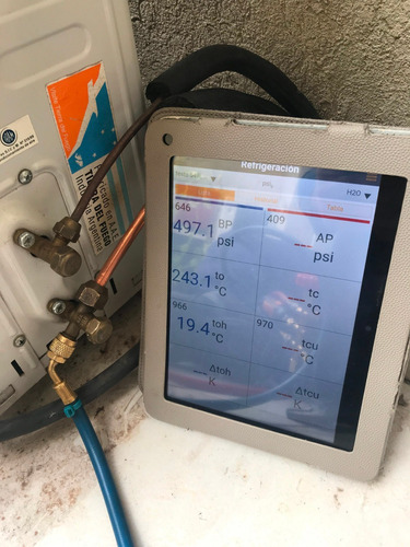 desinstalación aire acondicionado split + control de unidad.