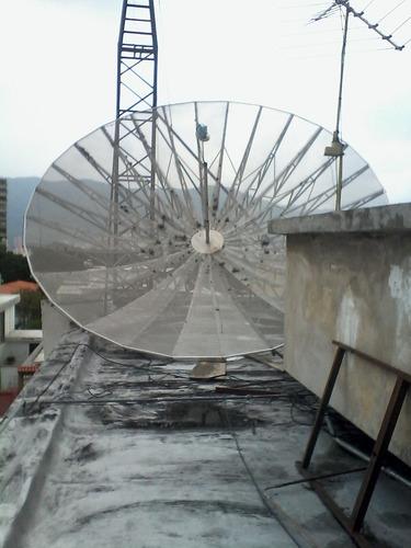 desinstalacion desmontaje antena parabolica c ku  venta