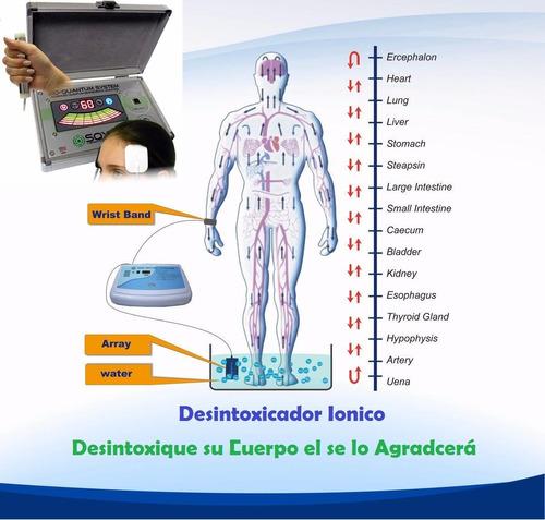 desintoxicador ionico - detos foot spa