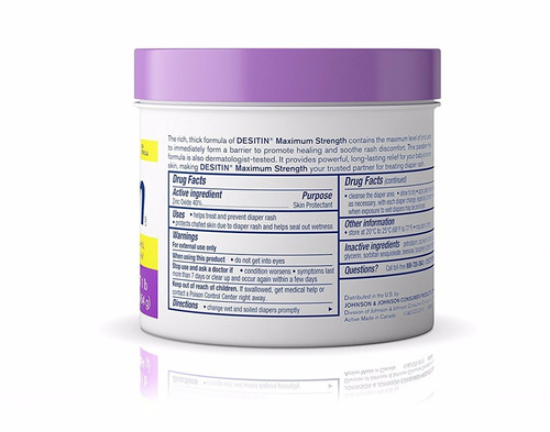 desitin crema antipañalitis 1 libra morada maximum strength