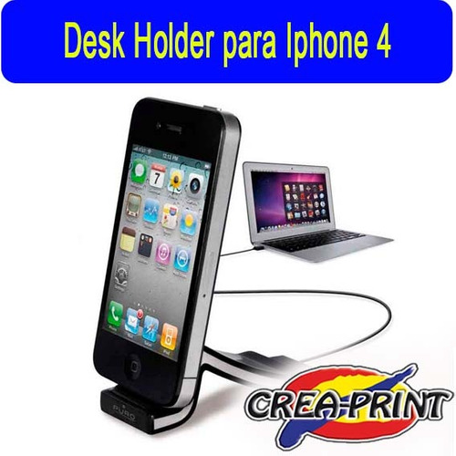desk holder para iphone 4g / 4s / ipod touch 4
