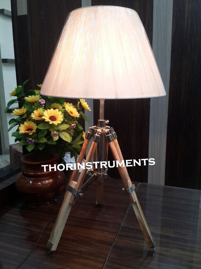 Desk table tripod stand lamp solid wood table lamp base only wood table lamp base only cargando zoom aloadofball Images