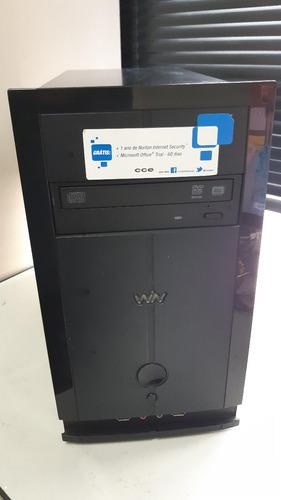 desktop cce, intel celeron 847, 4gb ram, hd 320gb, dvd-rw