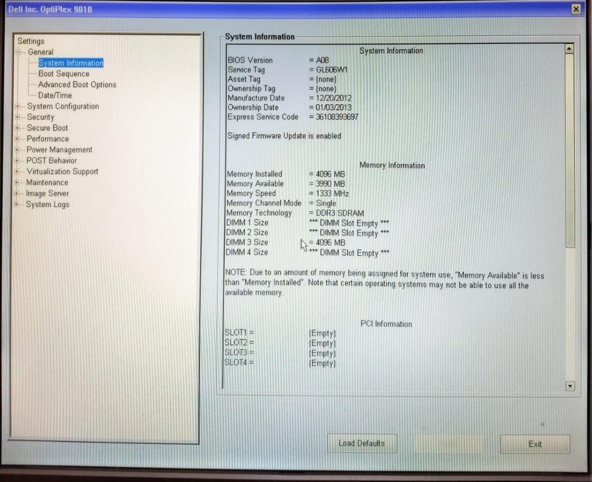 Desktop Dell (gabinente)