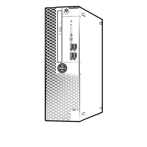 desktop dell optiplex 3050 small corei5-7500 disco 1 tb