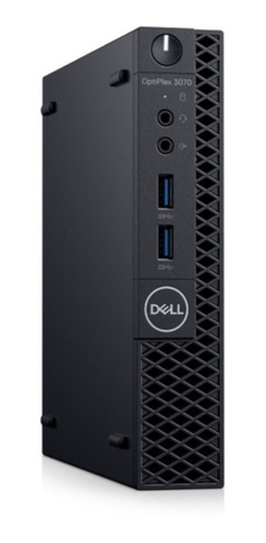 desktop dell optiplex 3070 micro i3-8100t 500gb 8gb linux