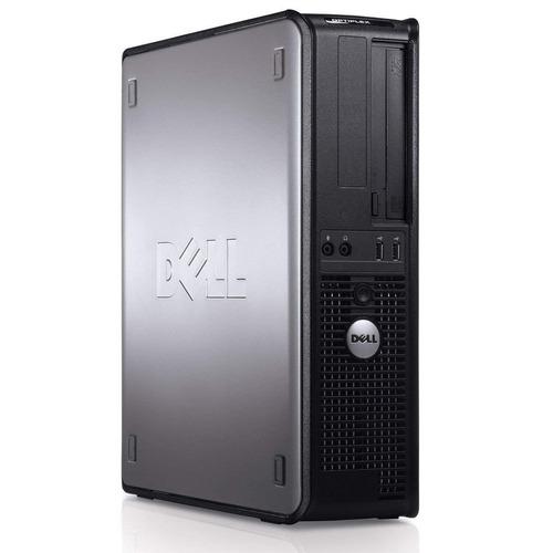 desktop dell optiplex 755 core2duo 4gb ram hd 160gb wi-fi
