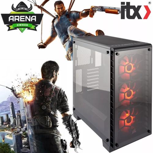 desktop gamer ryzen 5 2400 16gb ddr4 ssd 120gb gtx 1060 6gb