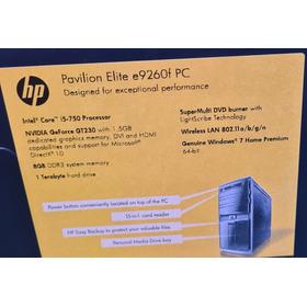 Desktop Hp Pavilion Elite I5 8gb 1t Hdd
