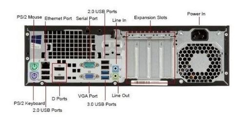 desktop hp prodesk 800 / i7-4770 3.4 ghz / 8gb / ssd 240 gb