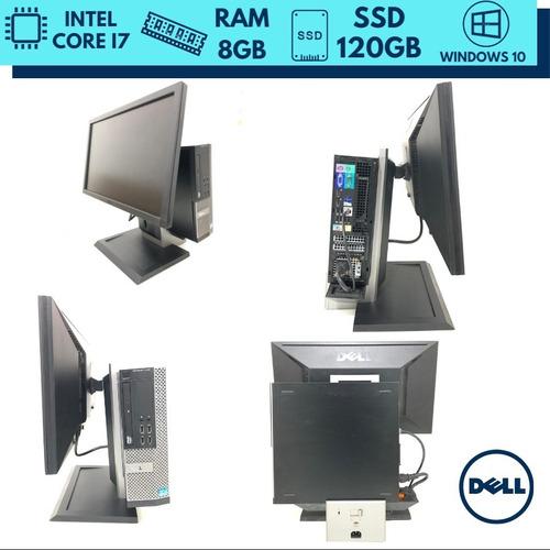 desktop i7 120gb ssd 8gb ram dell 12x sem juros + frete