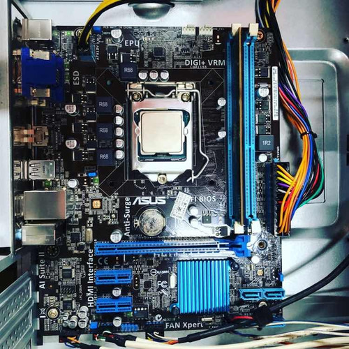 desktop intel core i3 3.5ghz 3mb mb asus 4gb ram hd 500gb
