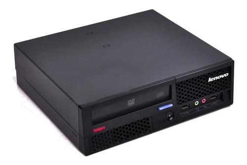 desktop lenovo 6234 core 2duo 3.0ghz 2gb 160gb win7 seminovo