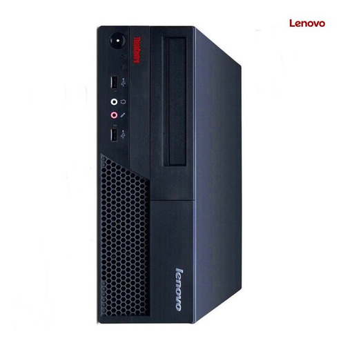 desktop lenovo 6234 core 2duo 3.0ghz 2gb 80gb win7 seminovo