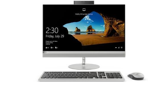 desktop lenovo i5 8gb 1tb ideacentre aio 23.8'' fhd (silver)