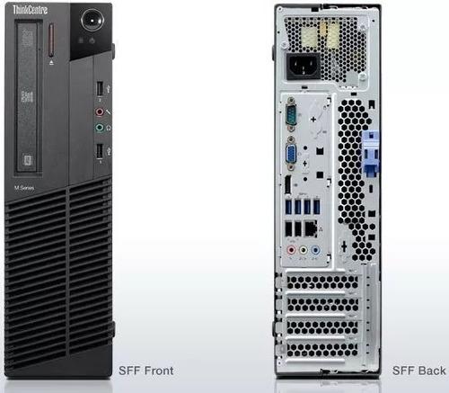 desktop lenovo m78 4gb 500hd amd a4-5300 3.40ghz