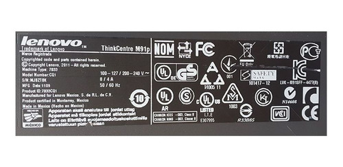 desktop lenovo m91 core i3 8gb ddr3 hd 1tb dvd wifi