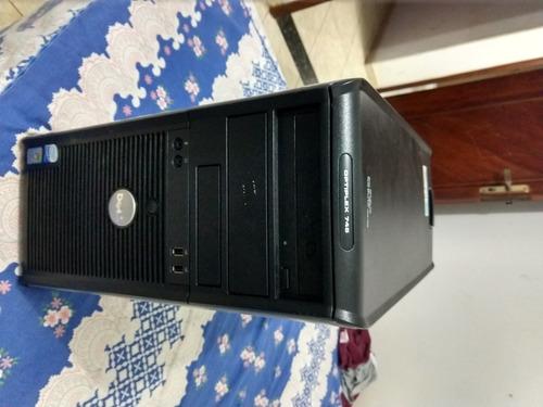 desktop optiplex 745 intel core 2 duo @6gb ram @vídeo 512mb