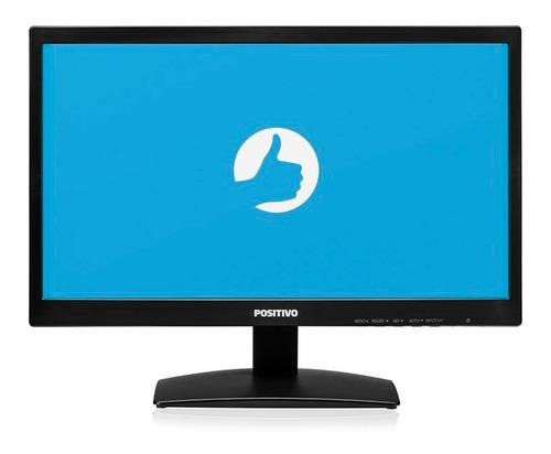 desktop positivo i3 8gb 1tb geforce gtx 750 w10 pro + monito