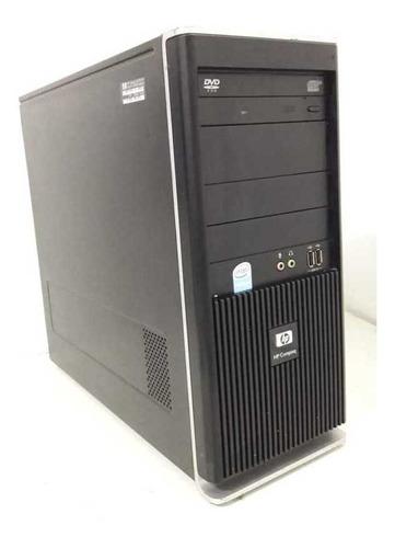 desktop usada hp dx2295 hd 80gb frete grátis + brinde