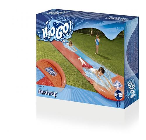 deslizador acuatico tobogan inflable h20go 2 carriles cuotas